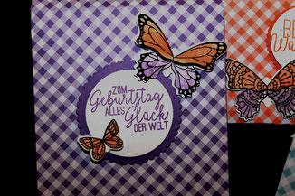 Spruch zum Geburtstag aus Schmetterlingsglueck