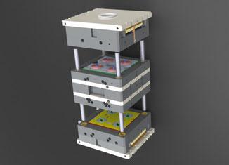 Ein von der Saur GmbH hergestelltes Etagenwerkzeug.