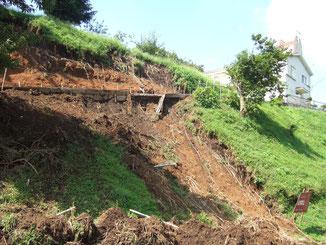 土砂崩れ 工事前