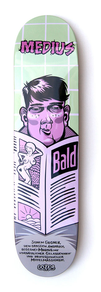 skateboarddesign - medius ließt klatsch