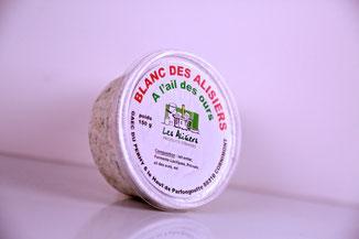 Gamme de fromages de la ferme des Alisiers