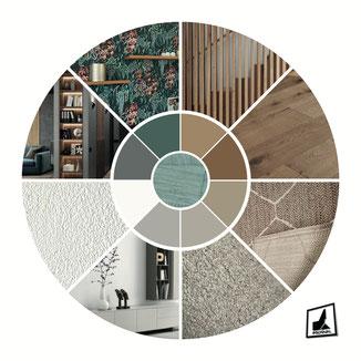 Grundriss Markenräume RE/MAX Switzerland, Planung und Realisation durch POLYDUAL