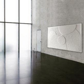 Präsentation von Kunst in einem fiktiven Museum