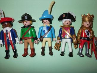 Playmobil® selten produzierte Figuren