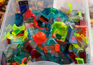 LEGO® transparent