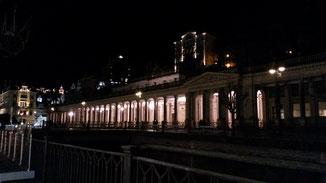 Die Marktkolonnade bei Nacht...