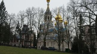 Russisch orthodoxe Kirche St. Peter und Paul