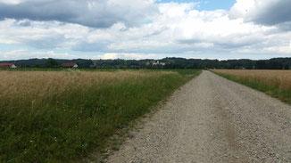 Auf dem Weg nach Ormoz (Grenze zu Kroatien)