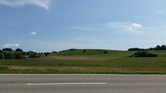 Kurz hinter Donnstetten, Landschaft wie sie mir gefällt...