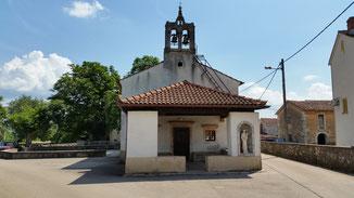 Das feine Dorfkirchlein in Sveti Anton