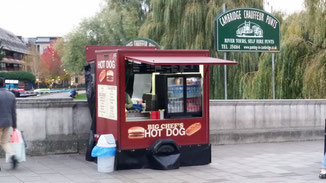 Hot Dogs für Zweibeiner