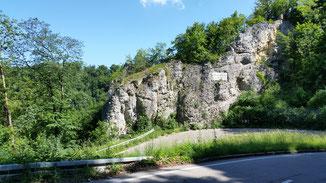 Weiler Richtung Geislingen...