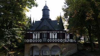 Nicht weit vom Schwanensee in Mühlhausen (Thüringen)...