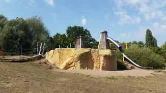 Abenteuerspielplatz nahe Erfurt am Moskauer Platz