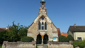 Hier bei dieser alten Kirche war mein Wendepunkt...