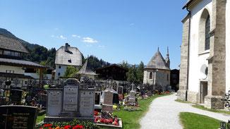Maria Alm, Friedhof...