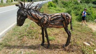 Ja ich weiß - der Esel hatte schon bessere Tage...