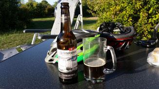 ...ein Bier von Störtebeker... Schwarzbier...