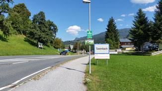 Ortseingang Taxenbach...