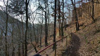 Dieser Weg war zwar schön, führte jedoch ins Nirwana...
