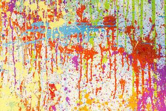 Kreativtherapie, Kunsttherapie, Ausdrucksmalerei, intuitives Malen #lieberglücklich mit Kreativität