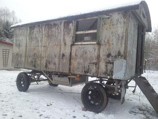 Der Bauwagen besaß eine gute Substanz...