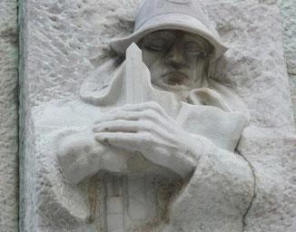 """""""Monumento al Generale - particolare - foto di Gianni Porcellini"""""""