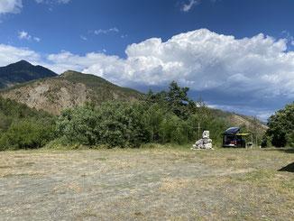 Kostenloser Stellplatz am Smolika Munti Refugio