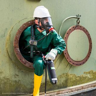 Ausbildung Atemschutzgeräteträger, Atemschutzgeräte tragen,