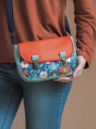 sac à main femme attache cartable rétro bandoulière