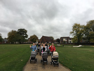 Buggy Fitness Mums at the Park
