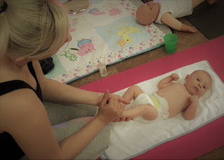 Nurture Fitness Baby Massage with Becky & George