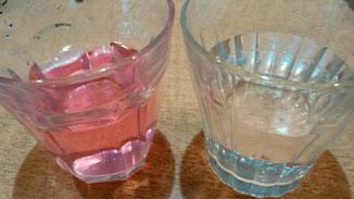水の塩素テスト