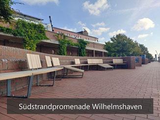 Sitzbänke - Wilhelmshaven Südstrandpromenade
