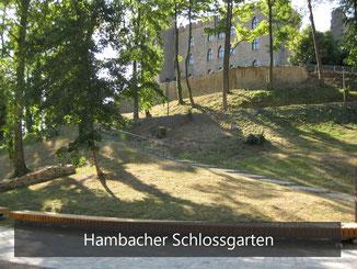 Hambacher Schloss - Schlossgarten