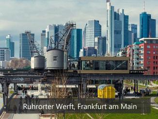 Ruhrorter Werft - Frankfurt am Main - Bänke