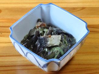 わらびのニシン煮 430円