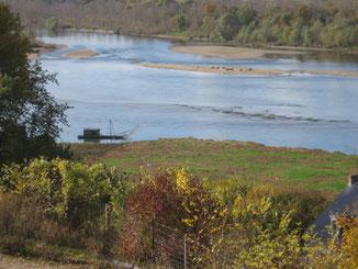 La Loire à Chaumont-sur-Loire.