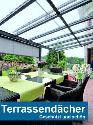 Terrassendächer auf gartenoase.de