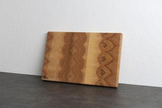 Jausenbrett Holz, Holzjausenbrett aus Österreich, Mit Gravur aus Esche