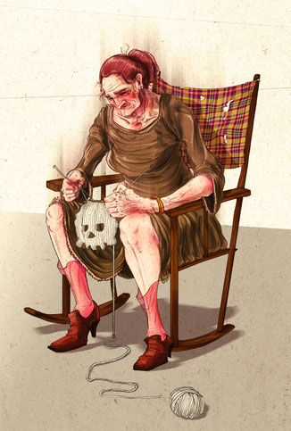 Waiting- Private Illustration Project, 2010
