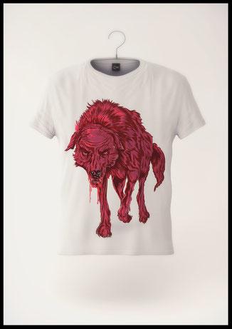 LSDK/CHOPPS → Shirt Illustration