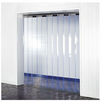 PVC Lamellen- PVC Streifenvorhang Set