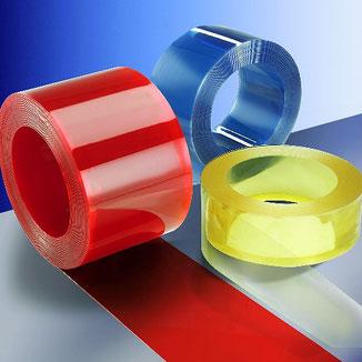 PVC Streifen viele Farben und Größen
