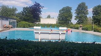 Unser Wartenberger Freibad im Ortsteil Landenhausen · Foto→ Redaktion