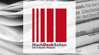 Die kritische Webseite · Grafik→ NachDenkSeiten