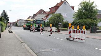 B 254 in Angersbach · Foto→ Karl-Ernst Crönlein