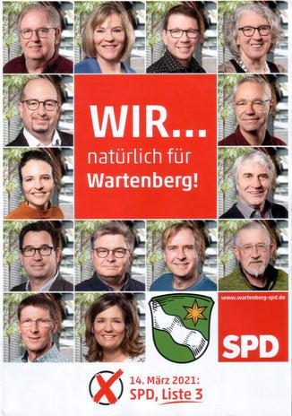 Flyer · Foto→ SPD Wartenberg