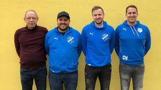 FSG · Trainerteam 2020/2021 · Walter Rößler, Tim Krüger, Sebastian Eichenauer, Christian Wahl · Foto→ FSG