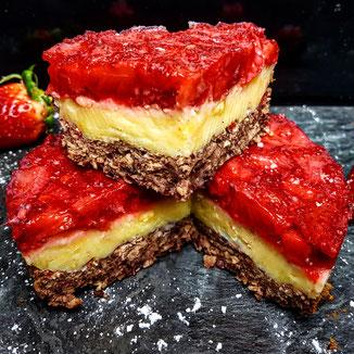 Erdbeer Pudding Kuchen Muemschnes Webseite